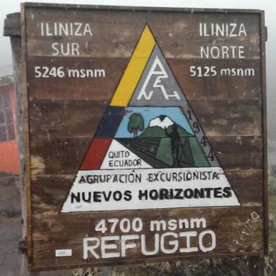 Illiniza Norte and Sur